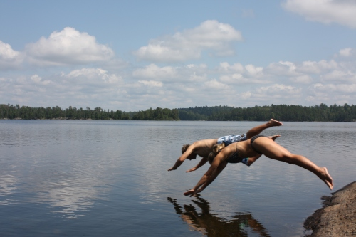 Careless summer fun deep in Canada's Quetico Provincial Park