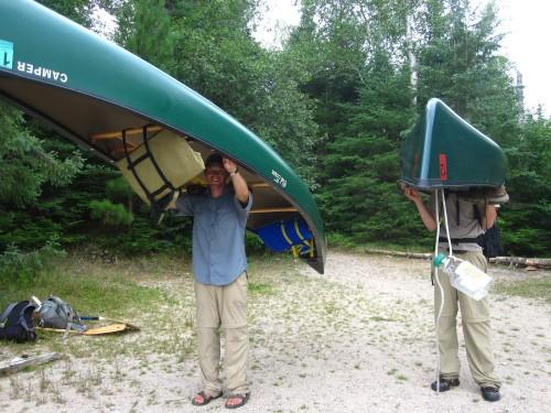 Sunday Lake Portage