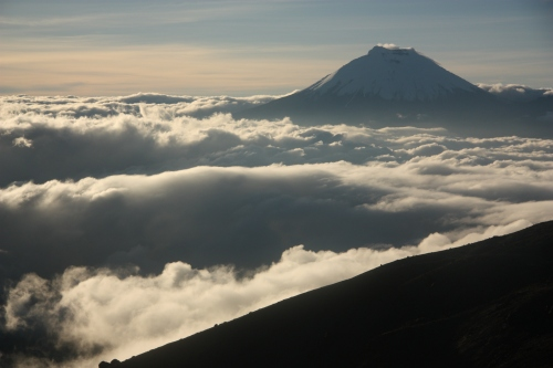 Cotopaxi - Our next objective as seen from Illiniza Sur