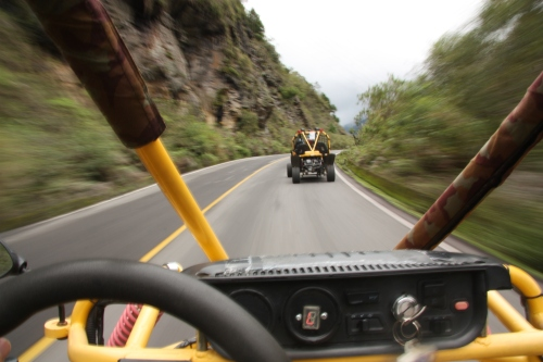 Racing along the back roads of Ecuador
