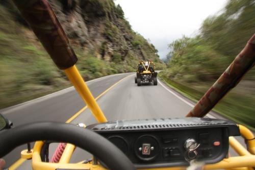 Racing along the back roads of Ecuador