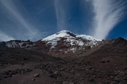 Looking back at Chimborazo