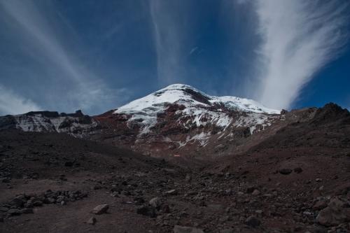 Looking back at Chimborazo